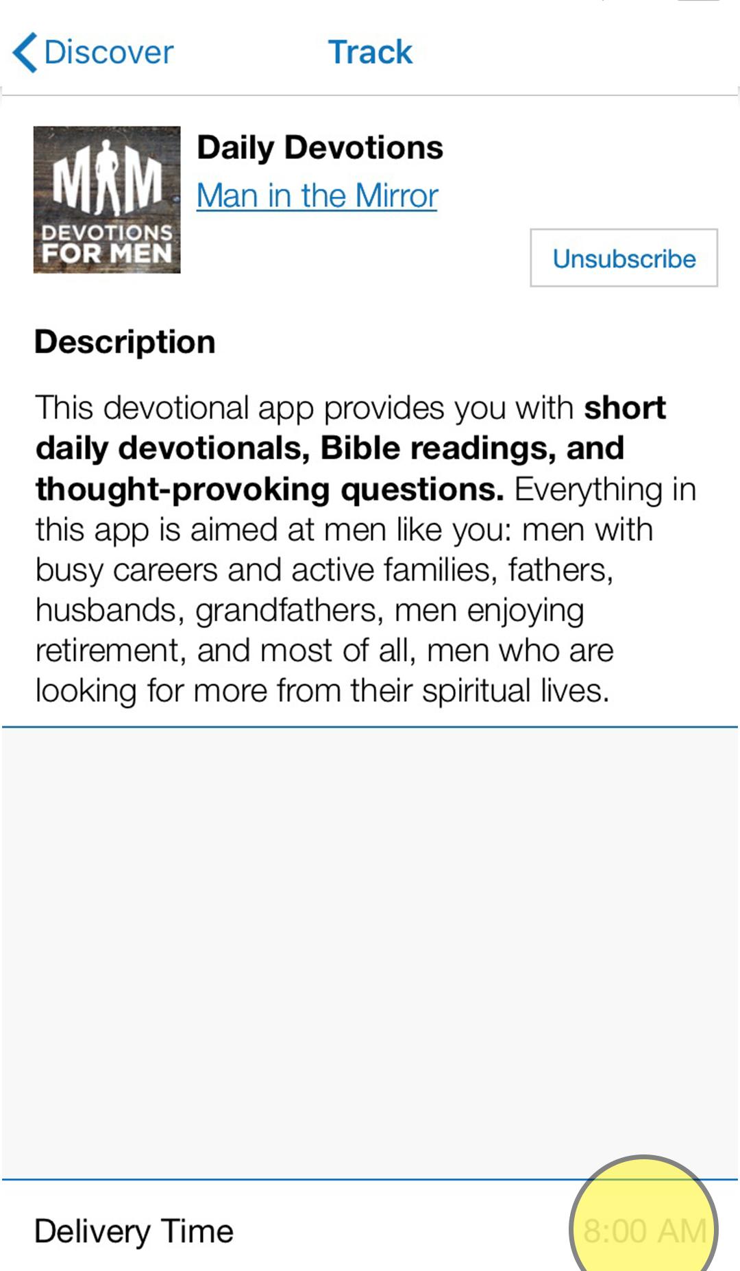 MIM Devotions for Men App - Man in the Mirror Resources